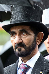 Royal Ascot  Grossbritannien  Scheich Mohammed bin Rashid al Maktoum  Oberhaupt des Emirats Dubai