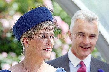 Ascot  Grossbritannien  HRH Sophie  Countess of Wessex