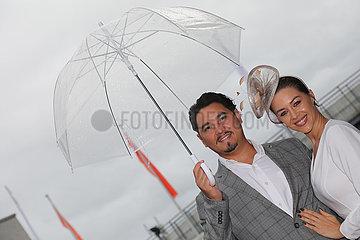 Hannover  Deutschland  Oana Nechiti  Taenzerin und Erich Klann  Choreograph