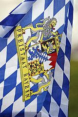 Hannover  Deutschland  Fahne des Freistaates Bayern