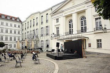 Deutsches Theater Berlin DIE PEST   Open-Air
