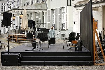 Deutsches Theater Berlin DIE PEST   Open-Air
