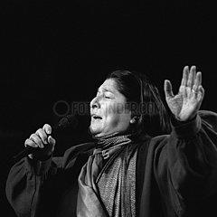 SOSA  Mercedes - Portrait of the singer