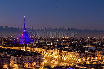 Blick auf Turin