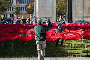 München: Never Again Installation