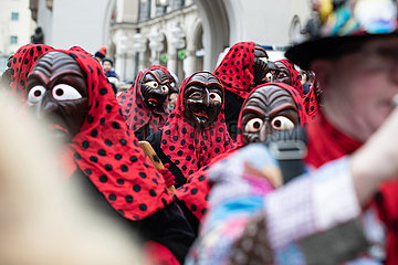 Munich: Carnival Parade