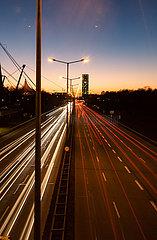 Abendverkehr in München