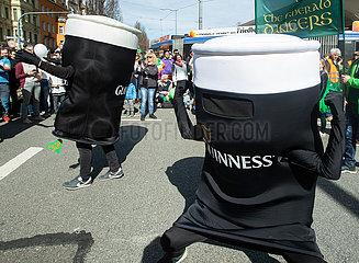 St. Patrick's Day in München