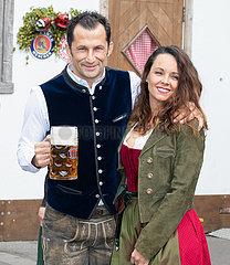 FC Bayern at the Oktoberfest