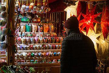 Christmas Market in the Englischer Garten