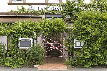 Geschlossener Landgasthof