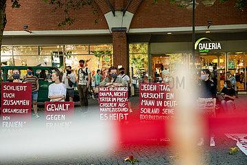 Kundgebung gegen Frauenmorde in München