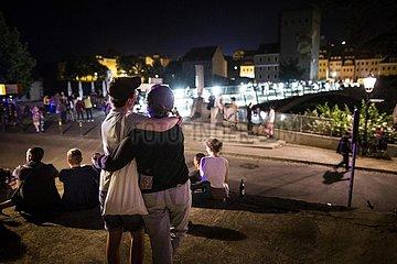 Grenzoeffnung zwischen Deutschland und Polen