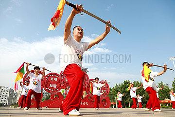 (SP) CHINA-Renxian Kreis TAICHI (CN)