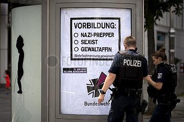 Protest Bundeswehr