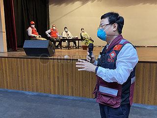 BANGLADESH-DHAKA-CHINESE MEDICAL EXPERT TEAM-COVID-19-SUPPORT