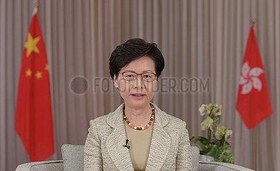 CHINA-Hongkong CARO LAM-NATIONAL SECURITY Gesetzgebung (CN) CHINA-Hongkong CARO LAM-NATIONAL SECURITY Gesetzgebung (CN)