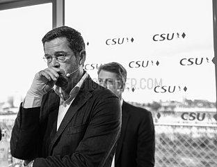 Karl-Theodor zu Guttenberg im Wahlkampf für die CSU