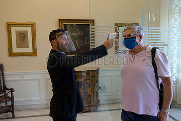 GRIECHENLAND-ATHEN-MUSEUMS-REOPEN