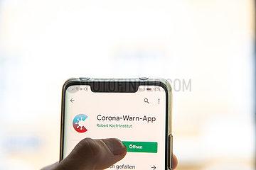 Corona-Warn-App der Bundesregierung veröffentlicht