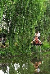 CHINA-ZHEJIANG-HUZHOU-ECO-PARK-Hochzeit (CN)