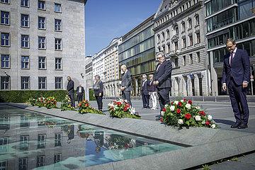 Kranzniederlegung Platz des Volksaufstandes von 1953