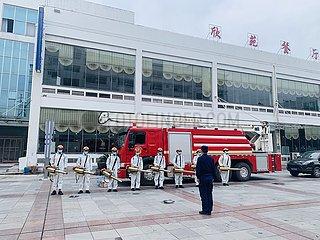 # CHINA-HUBEI-YICHANG-STUDENTEN-BACK TO SCHOOL-Desinfektionen (CN)