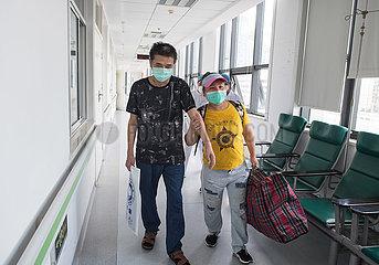 CHINA-HUBEI--WUHAN-PULMONARY HOSPITAL-LAST PATIENT-DISCHARGE (CN)