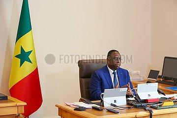 SENEGAL-DAKAR-PRÄSIDENTEN-EXTRAORDINARY CHINA-Afrika-Gipfel