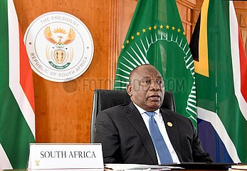 SÜDAFRIKA-PRETORIA PRÄSIDENT-EXTRAORDINARY CHINA-Afrika-Gipfel