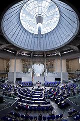 Bundestag  Germany's EU Council Presidency