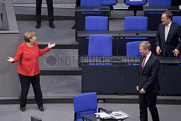 Angela Merkel  Armin Laschet - Germany's EU Council Presidency