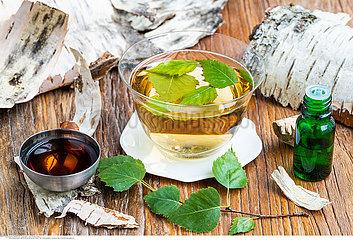 Birch tea