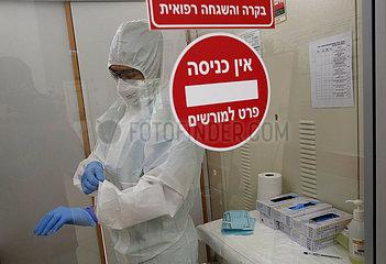 ISRAEL-COVID-19 Fälle ISRAEL-COVID-19 FÄLLE