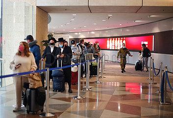 ISRAEL-Ben Gurion-COVID-19
