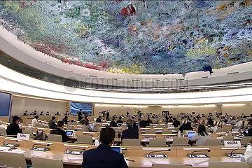 DIE SCHWEIZ GENEVA-UN-Menschenrechtsrat-RESOLUTION-RASSISMUS
