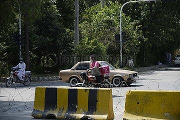 PAKISTAN-ISLAMABAD-COVID-19-LOCKDOWN