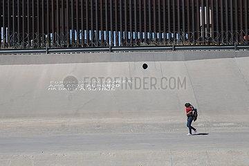 MEXIKO-CIUDAD JUAREZ-COVID-19-MIGRANTEN
