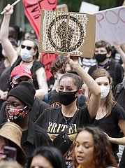 KANADA-VANCOUVER-JUNETEENTH-FREEDOM MARCH