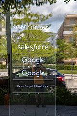 Salesforce und Google Büros