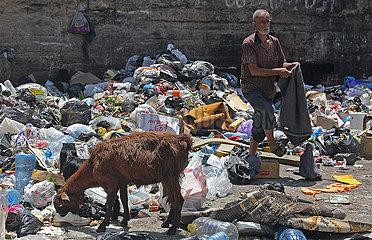 LIBANON-BEIRUT-Abfallkrise-ENVIRONMENT