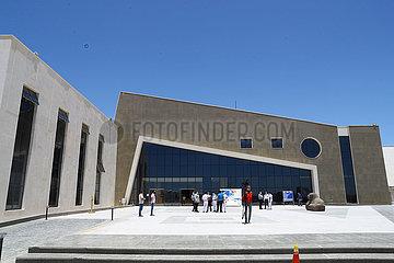 ÄGYPTEN-SHARM EL-SHEIKH-SAFE TRAVEL STAMP-MUSEUM