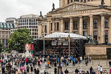 DEUTSCHLAND-BERLIN-OPEN AIR KONZERT