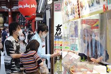 JAPAN-TOKYO-ASAKUSA-COVID-19-RUND