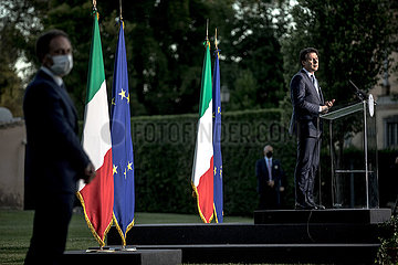 ITALY-ROME-PM-ECONOMIC CONSULTATIONS-TAX CUT