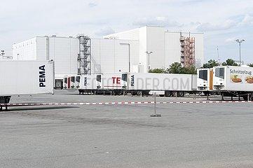 Geschlossenes Werk von Tönnies Lebensmittel GmbH & Co. KG