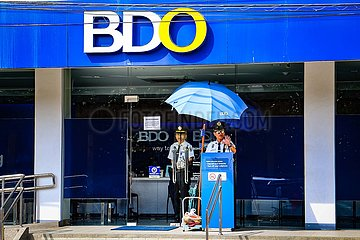 BDO Bank mit Security Guards (Thema: Wirecard)