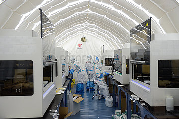 CHINA-BEIJING-AIR-INFLATED-TESTING-LAB (CN)