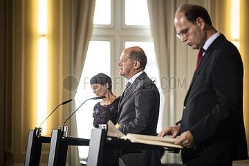 Pressekonferenz Stabilitaetsrat