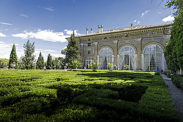 Gartenansicht Villa Madama
